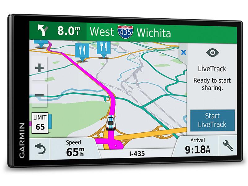 GPS-навігатор GARMIN DriveSmart 61 LMT-S WiFi Europa (010-01681-17)