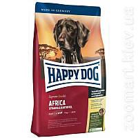 Гіпоалергенний корм для собак Хеппі Дог Суприм Африка м'ясо страуса - Happy Dog Supreme Africa   12.5 кг