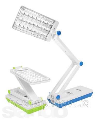 LED фонарь-трансформер-лампа TIROSS 24 диода (20 часов)