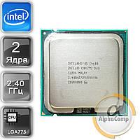 Процессор Intel Core2Duo E4600 (2×2.40GHz/2Mb/s775) б/у