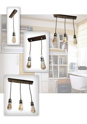 Люстра подвеса Лампа Эдисона, фото 2