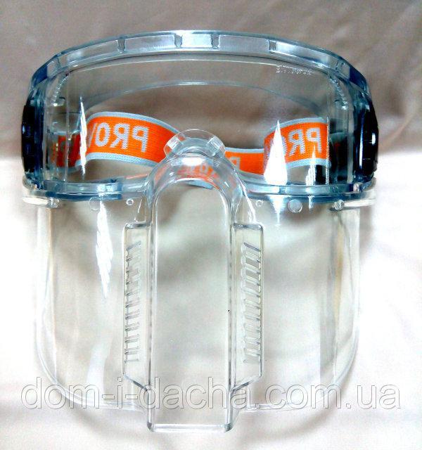 Очки-Маска Vision VITA не потеющее поликарбонатное стекло, антицарапина  ZO-0022
