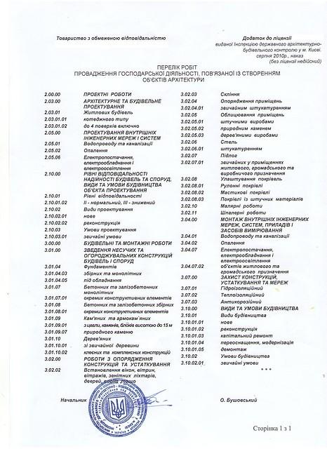 ООО Киевгорбуд  Продам строительную компанию с лицензией № 24