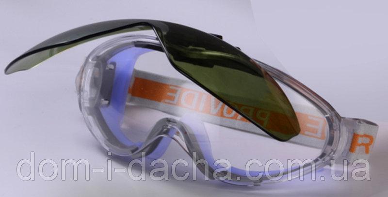 Очки Provide не потеющее поликарбонатное стекло, антицарапина, плюс линза DIN6 VITA  ZO-0010