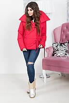 """Стеганая женская куртка на завязках """"ALASKA"""" с широким воротником (2 цвета), фото 3"""
