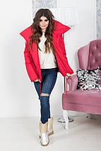"""Стеганая женская куртка на завязках """"ALASKA"""" с широким воротником (2 цвета), фото 2"""