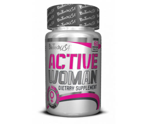Витамины BioTech Active Woman 60 таблеток, фото 2