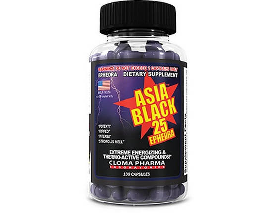 Жиросжигатель Cloma Pharma Asia Black 100 капсул, фото 2