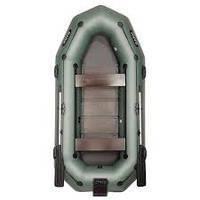Лодка Bark B-300NPD передвижные сидения (реечный настил)