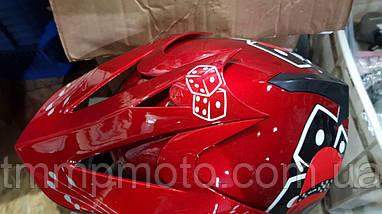 Шлем детский кроссовый размер 56-58, фото 3