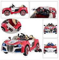 Детский электромобиль BMW CH927 (М 2318) с открывающимися дверцами красный на радиоуправлении, фото 3
