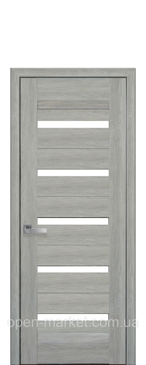 Дверное полотно Lira со стеклом сатин
