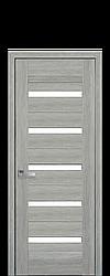 Дверне полотно Lira зі склом сатин