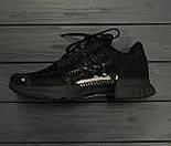 Мужские кроссовки Adidas ClimaCool Black. Живое фото (Реплика ААА+), фото 7