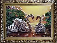 Лебеди из янтаря