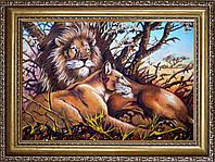 Львы из янтаря