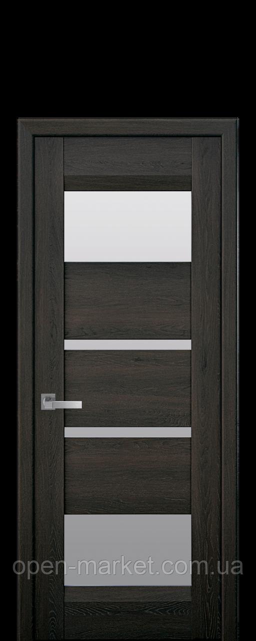 Дверное полотно Ibiza со стеклом сатин