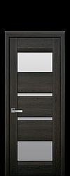 Дверне полотно Ibiza зі склом сатин