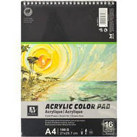 "Альбом для акварели ""Acrylic Color Pad"" 16 листов, 190г/м²"