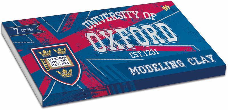 "Пластилин 7 цв. ""Oxford"" 140 г"