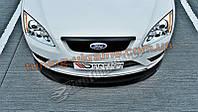 Накладка на капот для Ford Focus mk2 2004-2011