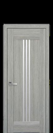 Дверное полотно Race со стеклом сатин, фото 2