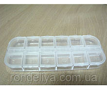Органайзер для рукоділля на 12 клітинок