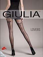 Женские колготки с узором  Lovers 20 model 5