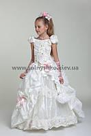 Нарядное платье Любаша 4704 белое
