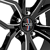 FOOSE OUTCAST Gloss Black with Milled Accents, фото 2
