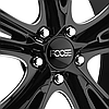 FOOSE KNUCKLE BUSTER Black with Milled Groove, фото 2