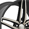 FOOSE STALLION 1PC Black with Machined Face and Double Dark Tint, фото 2