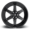 FOOSE SLIDER Gloss Black with Milled Accents, фото 3