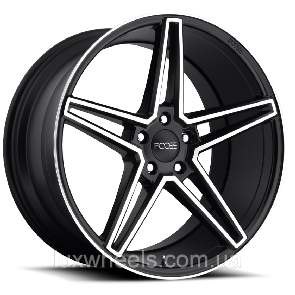 FOOSE VOSS Black with Machined Face