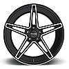 FOOSE VOSS Black with Machined Face, фото 3