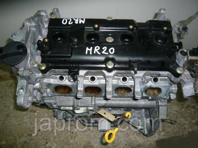 Мотор (Двигатель) Nissan  X-Trail T31 Qashqai II (J10)  MR20DE 2.0 бензин