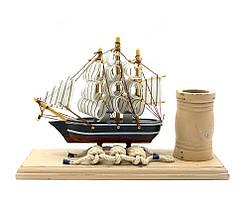Поставка для ручок Корабель