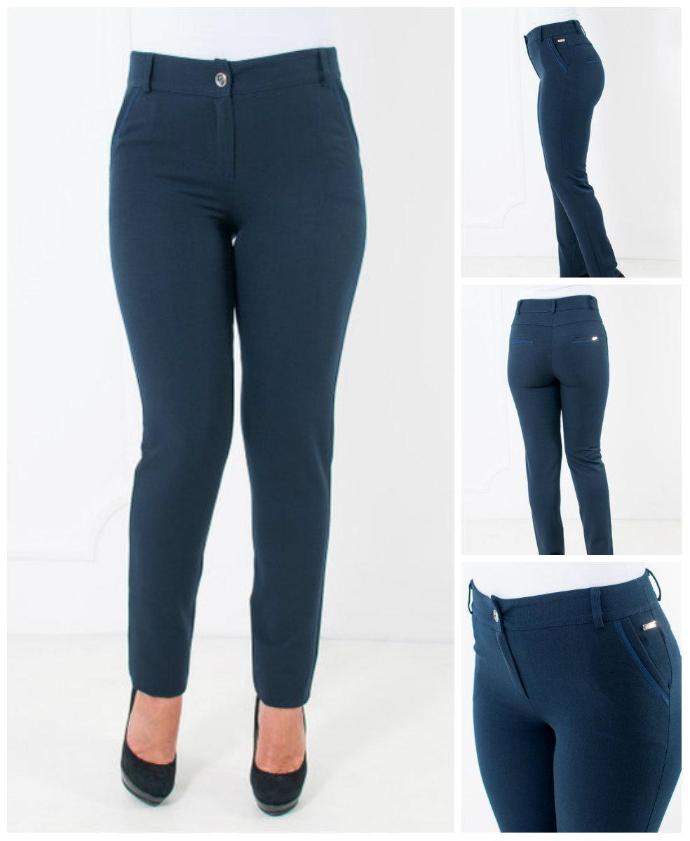 0d7b1596a7c3435 Стильные женские брюки Миранда зауженные, 44,46,48,50,52,54,56 ...