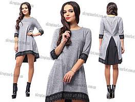 """Платье женское стильное (42-46) """"Latoria"""" купить оптом со склада  2P/NR-5689"""