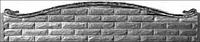 Забор односторонний «Фагот» арка