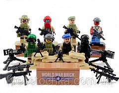 Лего военный armed raid спецназ, фото 2