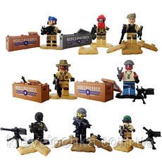 Лего военный armed raid спецназ, фото 3