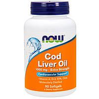 Рыбий жир COD LIVER OIL 90 капсул