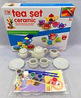 Набор для росписи Чайный сервиз 1424-B Tea set ceramic