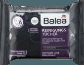 Очищающие салфетки для лица с активированным углем Balea, 25 шт.