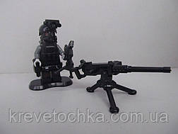 Лего военный armed raid спецназ с противогазом, фото 2