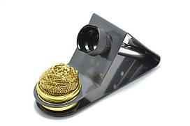 Подставка для паяльника ZD-10W стружкой для очистки жала