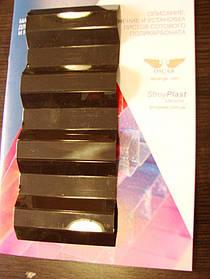 Профилированный волновой монолитный поликарбонат Трапеция коричневый 0,8мм 105х200см