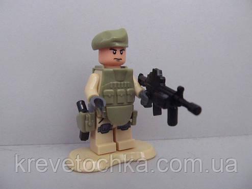 Лего военный armed raid спецназ , фото 2