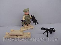 Лего военный armed raid спецназ , фото 3